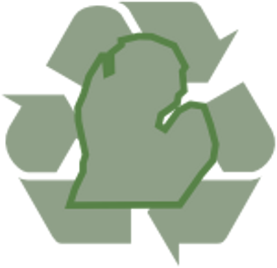 Michigan Recycling Logo